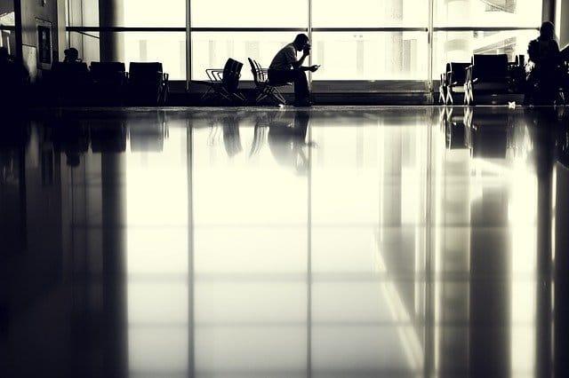 aeropuerto para viajar