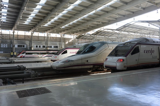 viajes por tren