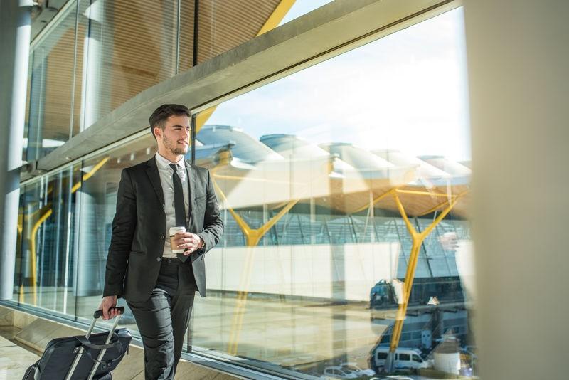 viajero de negocios