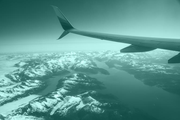 Fotografía de avión por el mundo